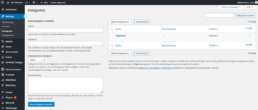WordPress Kategorie erstellen