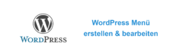 WordPress Menü erstellen Titelbild