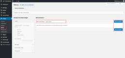 WordPress Menu erstellen Anleitung