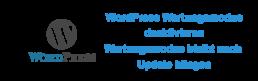 WordPress Wartungsmodus deaktivieren Titelbild